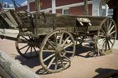 Old horse wagon — Stock Photo