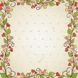 Royalty-Free Stock Vector Image: Floral frame. Vector illustration.