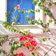 Traditional view of greek design of home — Stock Photo #8142313