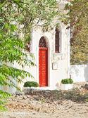 Tradycyjnego mały kościół w kefalonia, grecja — Zdjęcie stockowe