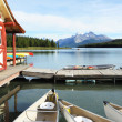 Stock Photo: Maligne Lake