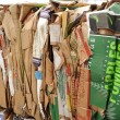 Recyclable cardboards — Stock Photo