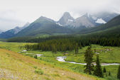 Spray Valley Provincial Park in Kananaskis Country — Stock Photo