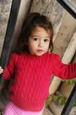 2 year old girl — Stock Photo