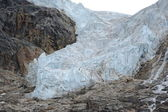 Angel-Gletscher hautnah — Stockfoto