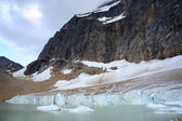 Mount Edith Cavell and Cavell Pond — Stock Photo