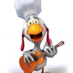 Chicken chef — Stock Photo