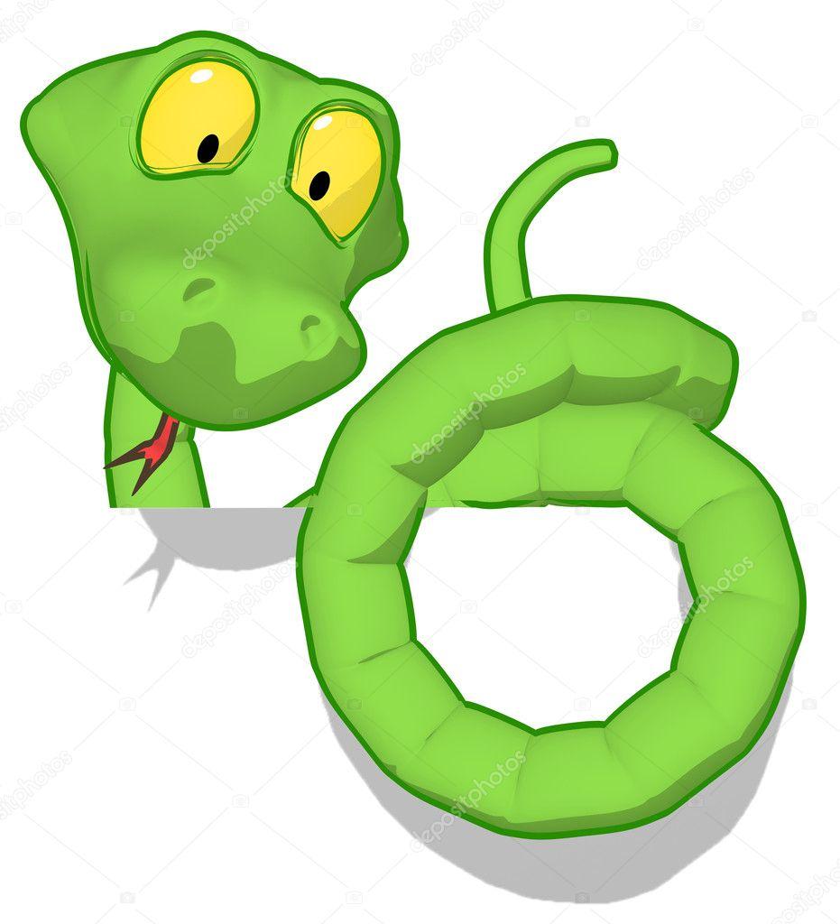 可爱的小蛇动画