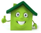 Gröna huset — Stockfoto