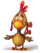 Chicken 3d — Stock Photo