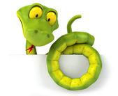 Snake 3d — Stock Photo