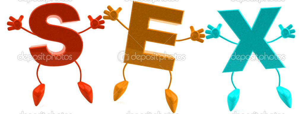 Letters S, E, X forming a word — Stock Photo #8333051