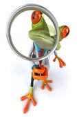 青蛙医生 3d — 图库照片