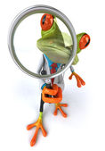 Frog doctor 3d — Stock Photo