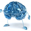 Brain illustration 3d — Stock Photo #8544549