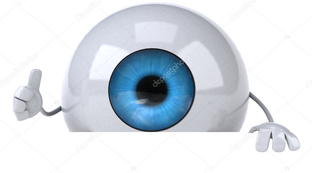 Eye 3d — Stock Photo #8543985