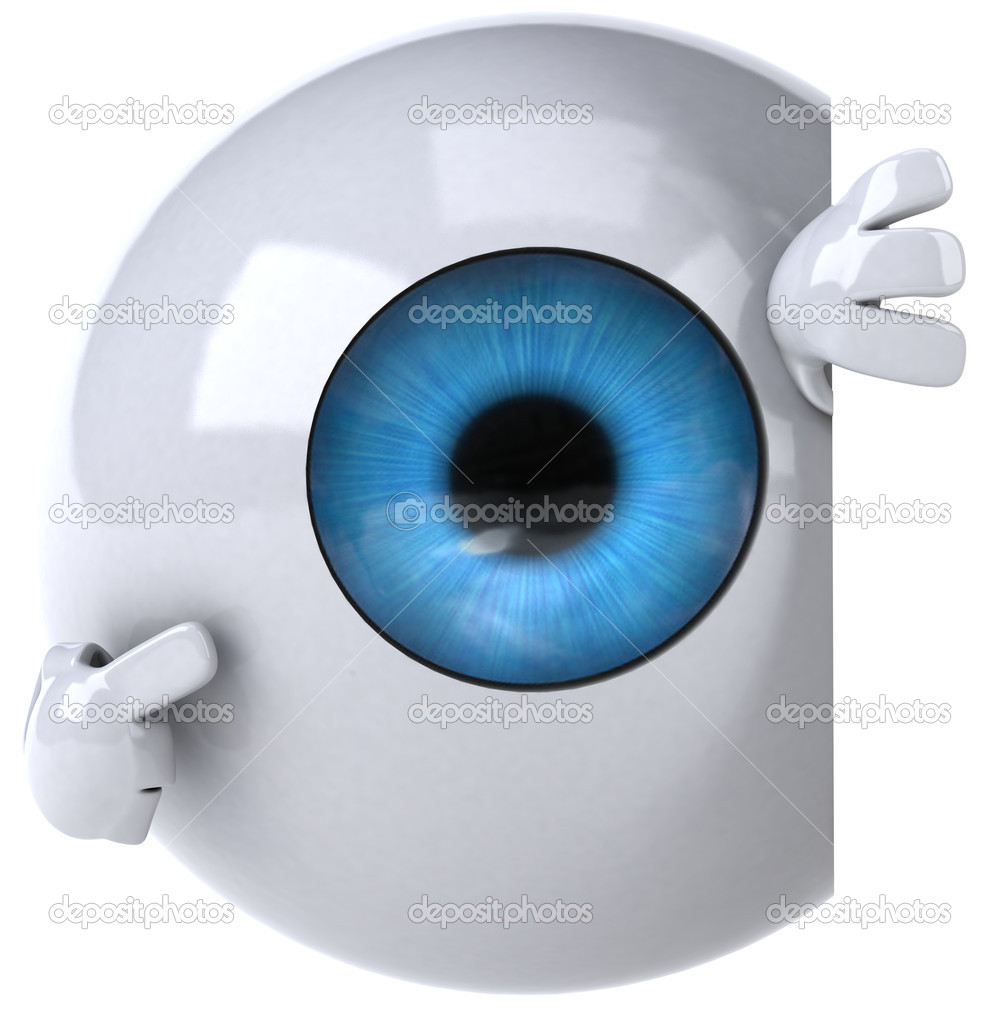 Eye 3d — Stock Photo #8544256