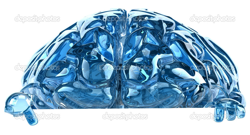Brain illustration 3d — Stock Photo #8544716