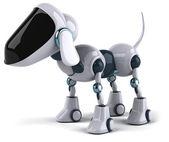 Dog robot 3d — Stock Photo