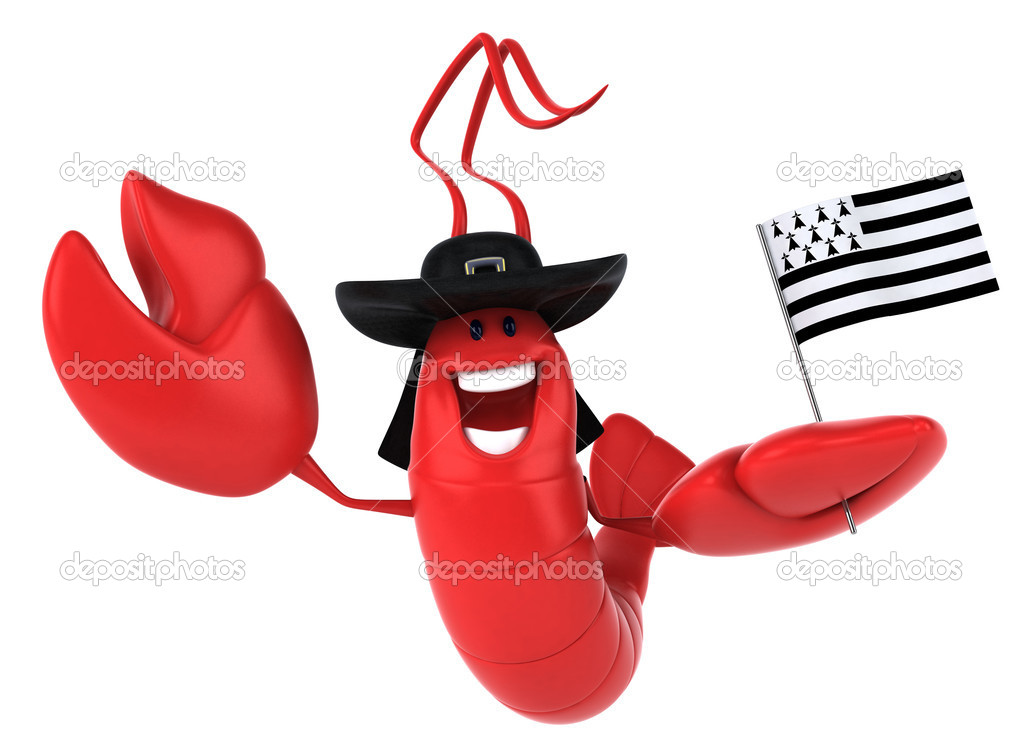 American lobster 3d  Stock Photo #8588342