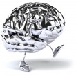 Brain 3d illustration — Stock Photo