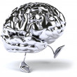 Stock Photo: brain 3d illustration