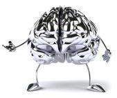 Brain 3d illustration — Stock Photo