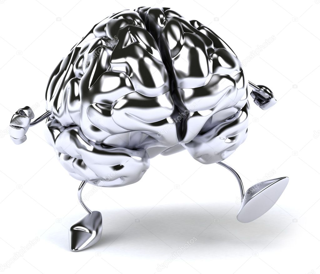 Brain 3d illustration — Stock Photo #8736379