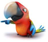 Parrot 3d — Stock Photo