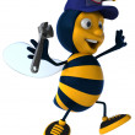Bee worker — Stock Photo #9084863
