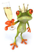 Frog 3d — Stock Photo