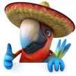 Mexican parrot — Stock Photo #9455863
