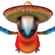 Mexican parrot — Stock Photo #9455877