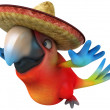 Mexican parrot — Stock Photo #9455880