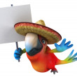 Mexican parrot — Stock Photo #9455883
