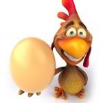 Chicken — Stock Photo #9702374