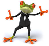 Cool frog — Stock Photo