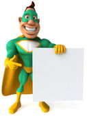 Superhero 3d — Stock Photo
