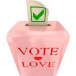 Vote Love concept. — Stock Photo #8431787