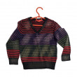 Children's stripy sweater. — Stock Photo