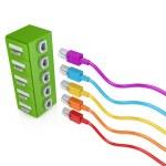 Data storage concept. — Stock Photo