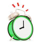 Ringing vintage alarm clock — Stock Photo
