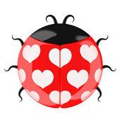 Cute lady bug. — Stock Photo