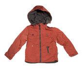 Orange children's jacket. — Stock Photo