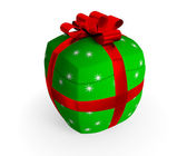 Inflated gift concept. — Stock Photo
