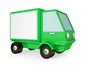 Green truck. — Stock Photo