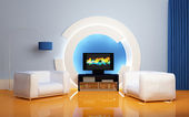 Modern interior composition. — Stock Photo