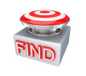 FIND button. — Stock Photo
