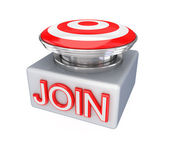 JOIN button. — Stock Photo