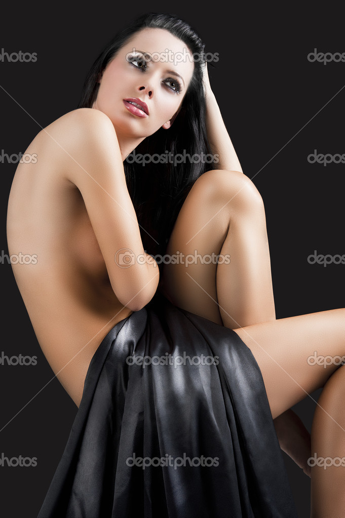 depositphotos 10522730 The nude cute sexy woman over black she looks up at left And a gay one, to boot … which places me somewhere between the Drama Queens ...
